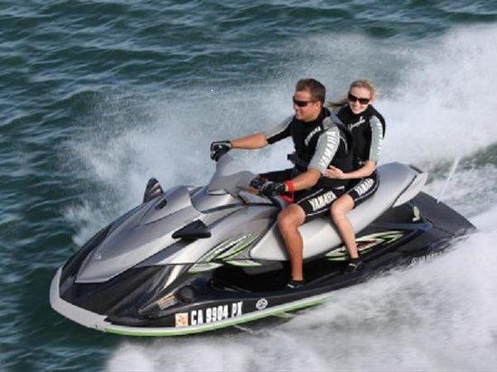 Randonnée de 30 à la demi-journée sur Piriac sur mer et Saint Brévin avec le Yamaha vx de 110 CV - Jet n' Gliss
